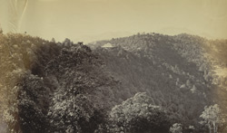 View of Squire's Hall and Summer Hill from the 'Observatory', Simla